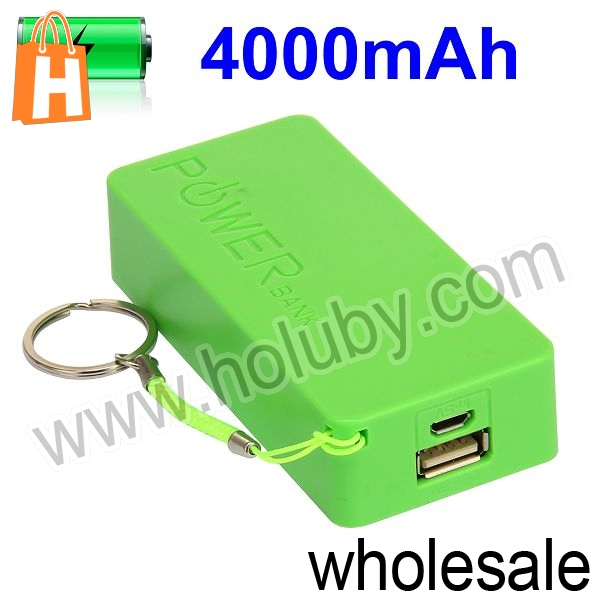Actual Capacity 4000mAh Portable Mini Size Perfumed Power Bank With LED Indicator Light And Hanging Ring
