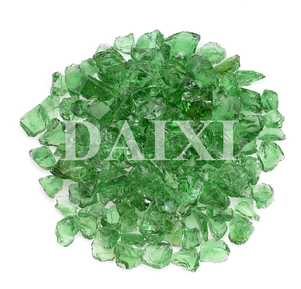 China colored fire glass for fire pits