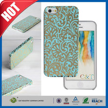 C&T Best protective deluxe mirro face shiny hard pc cover case for iphone 5