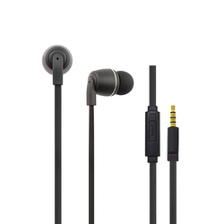 Metal earphone earpiece earbuds and headphones high quality headset with mic, oem headphones manufacturer in ear earphones 2016