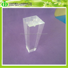 DDH-L008 Luxury Acrylic Contemporary Sofa Leg, Hot Sales Acrylic Replacement Sofa Leg, Transparent Plastic Legs for Sofa