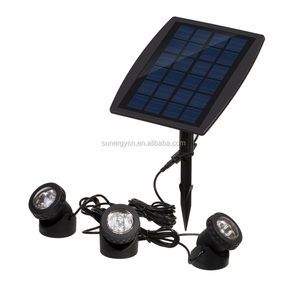 Solar Power Spotlight 18 LED Garden Swimming Pool Underwater Lamp Decoration Outdoor Lamp