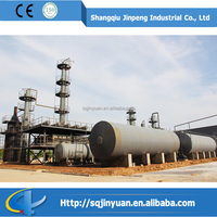 High Yield Continuous Recycling Distillation Automatic Oil Purifier