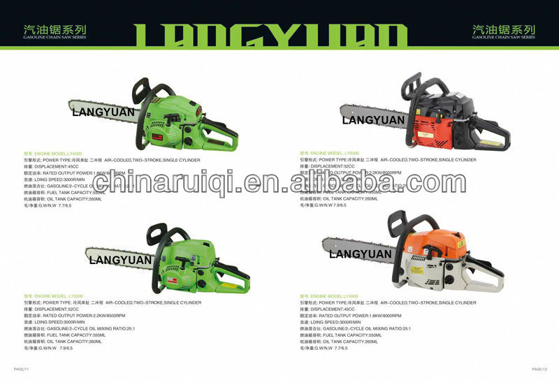 Double handle 49cc earth drill earth auger