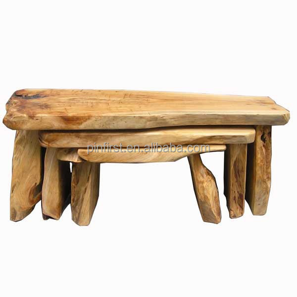 25Pcs Antique Carved Irregular Handmade Wooden Chair