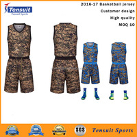 college basketball uniforms camouflage jersey 100% polyester lycra soft plain basketball jersey OEM low MOQ