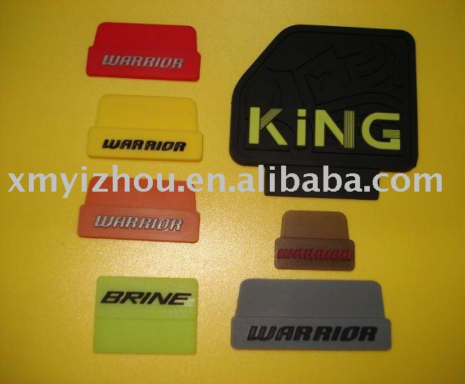 Custom silicone 3d rubber clothing label for clothes, shoes