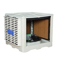 Evaporative Water Window Mouted Industrial Wall Mounted Air Conditioner Fan
