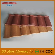 Bent Tiles Free Sample Wanael Bond Corrugated Sheet Metal Roofing, Solar Roof Tile