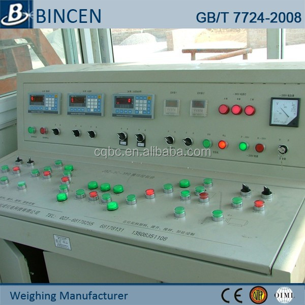 Automatic industrial weighing system