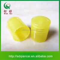 wholesale lotion packaging bottle flip top cap and snap on top dispensing cap and white plastic circular top flip cap