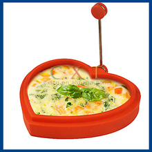 Silicone and Pancake Maker Egg Fried Frying Pancake Cooking Mould(Random Color)