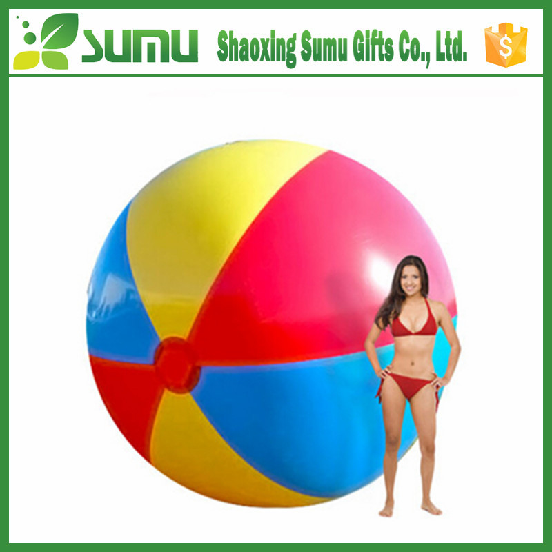 custom inflatable 12 inch giant pvc inflatable beach ball toy