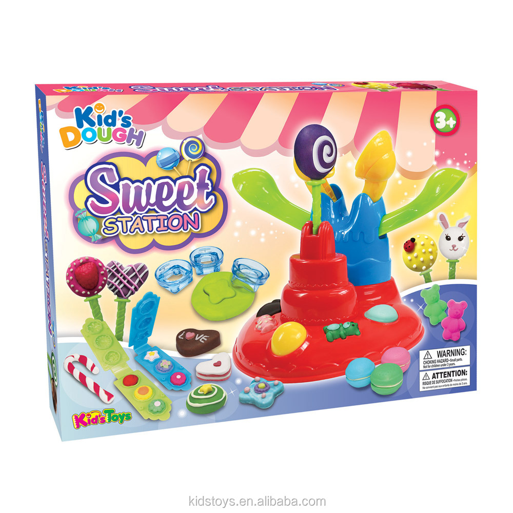 New Arrival intelligent modelling clay Ice cream dough toys