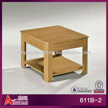 611B-2 modern square end table safe