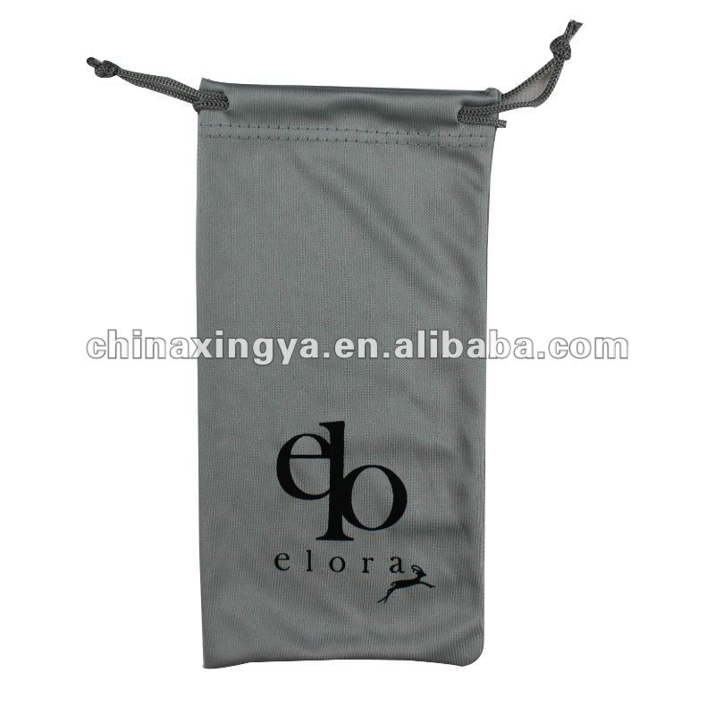 Dongguan factory customized microfiber drawstring pouches