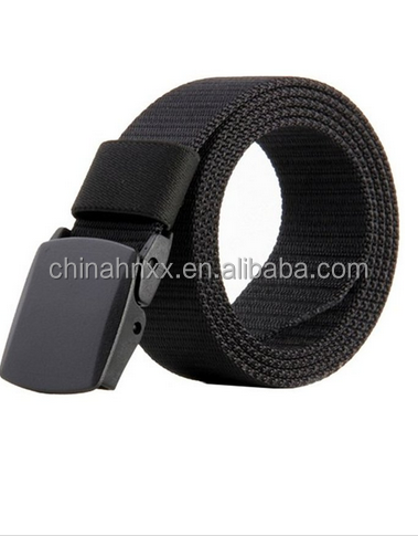 Men's Nylon Military Style Army Outdoor Tactical Webbing Buckle Belt