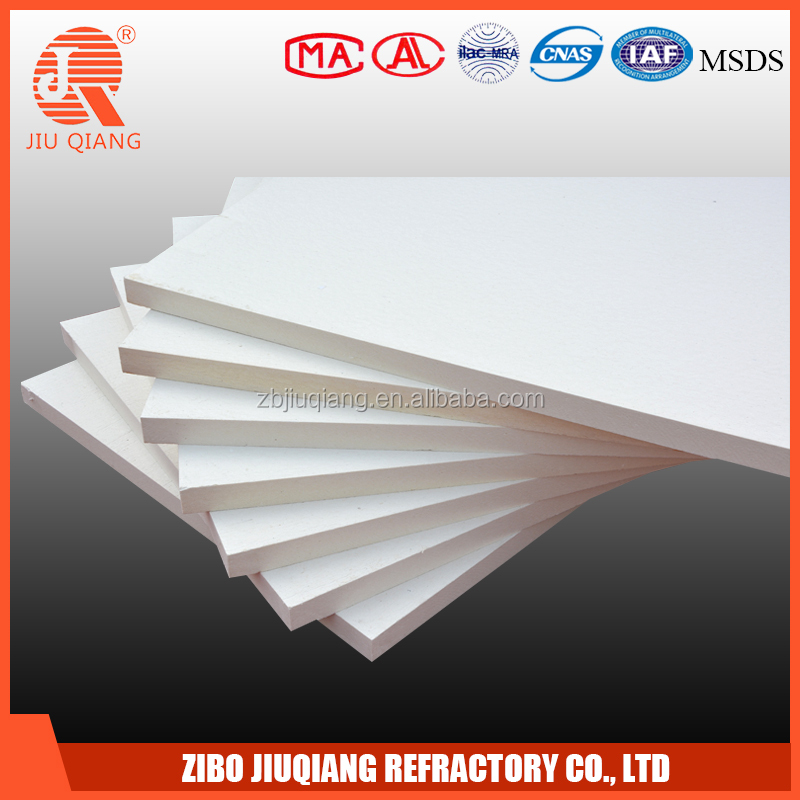 foil backed insulation high temperature alumino silicate ceramic fiber board