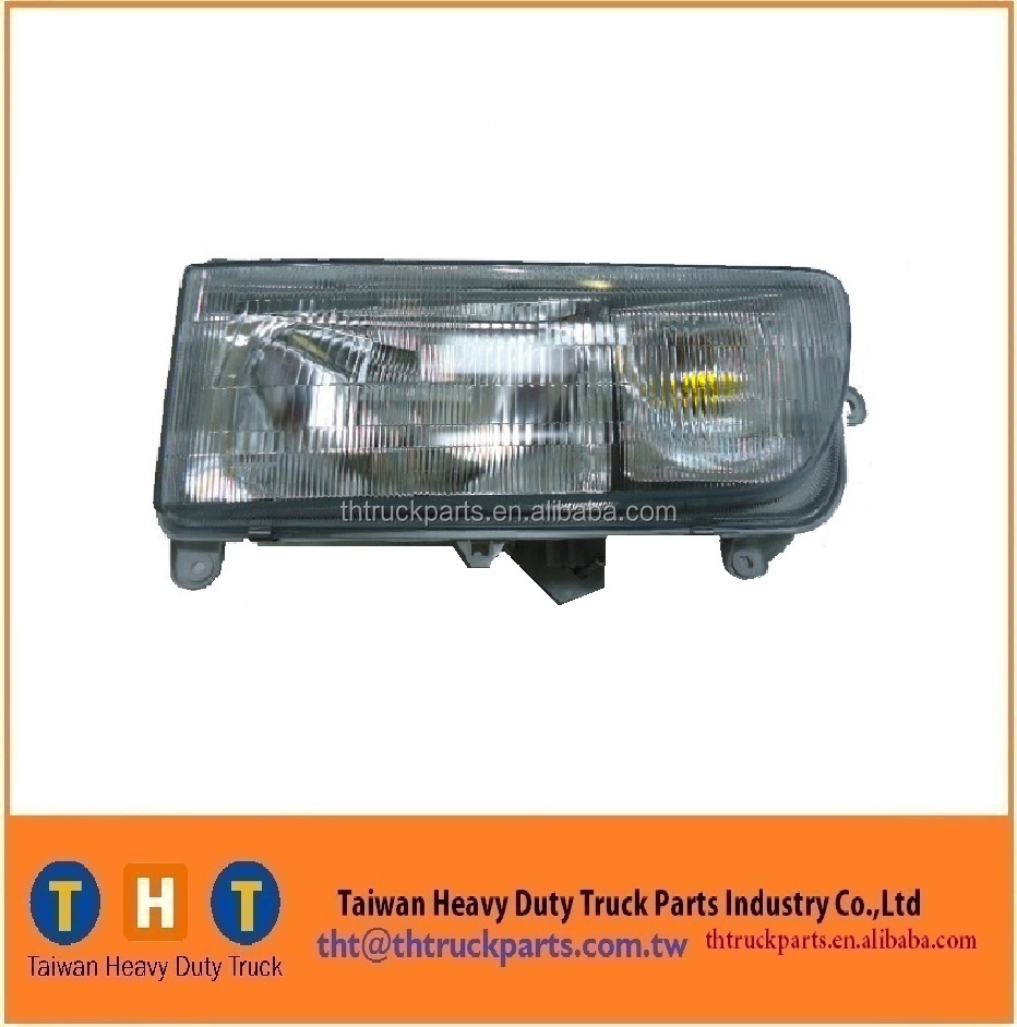 HEAD LIGHT hino 700 series body parts E13C 2004Y