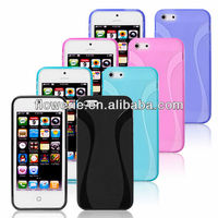 FL2348 Guangzhou hot selling small pretty waist transparent water case for iphone 5 5G