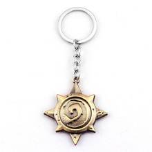 Star shaped custom metal keychain interesting valentine's gift men