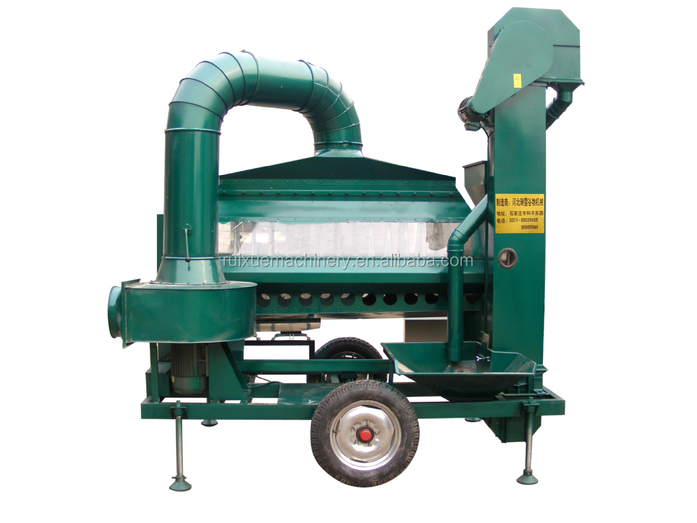 5 ton/hour maize wheat specific gravity seed separator machine
