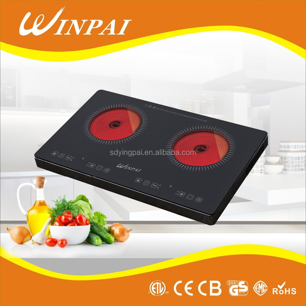 2013 hot selling double induction cooker/ induction stove/radiant coil burner cooktops