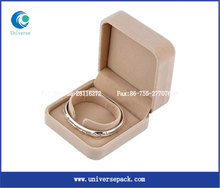 Bracelet Beige Boxes Flocking Box Plastic Nice New Popular Wholesale Packing Products
