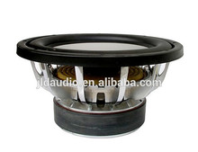 JLD AUDO HOT SALE 10/12/15 inch Loud car subwoofer with silver aluminum frame