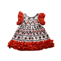 Latest baby girl dress chicken patterns for girls dress thankigiving day girls dress