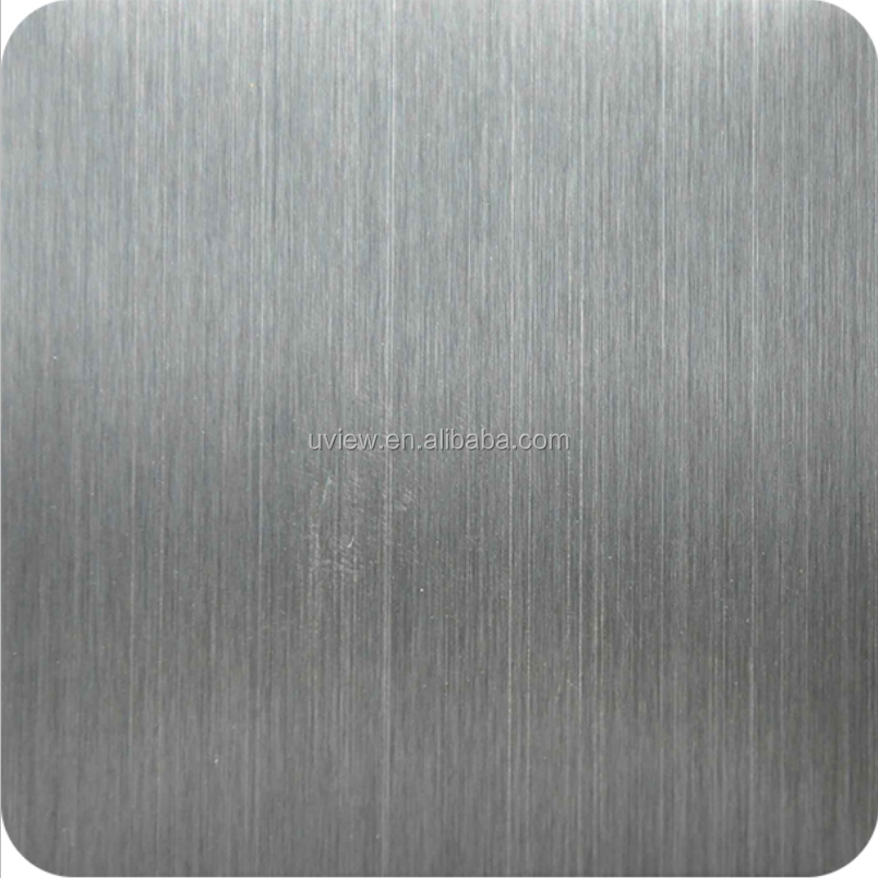 304 0.7mm 4X8 hairline stainless steel decorative metal panels