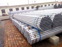 hot dip galvanized steel pipe fence