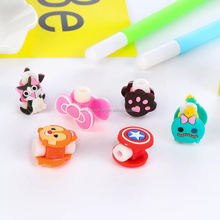 with high quality cute cartoon protector usb data cable charger
