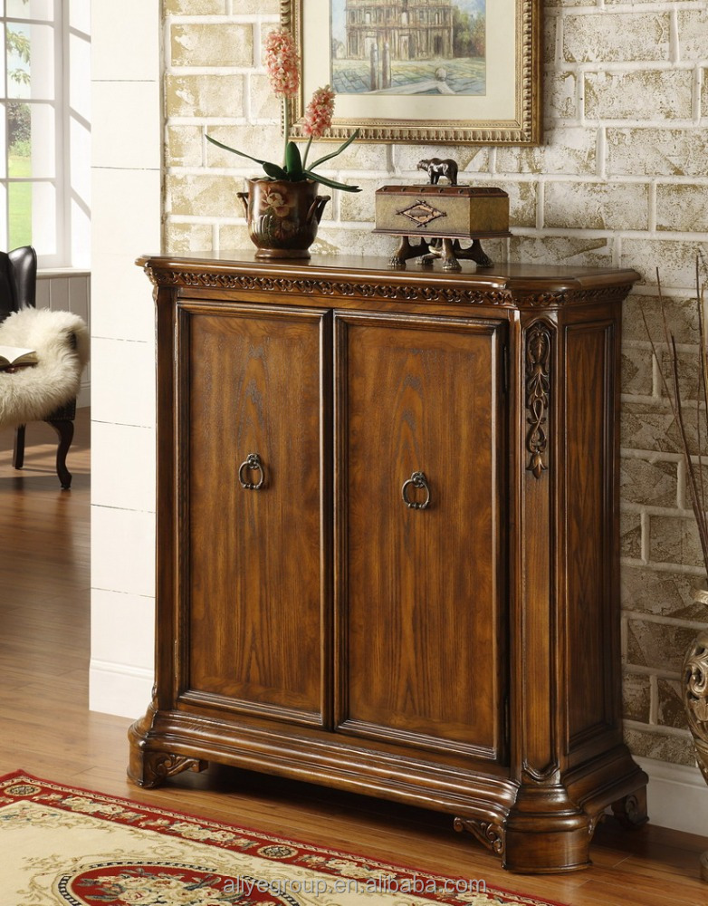 8007-20-Small furniture 2014 New Design Luxury Solid Wooden Storage Shoe Cabinet