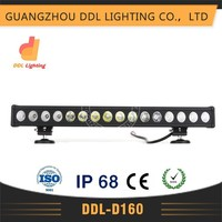 Best selling products made in china,IP67,CE ROHS ECE Auto led light,single row 160w led light bar,4x4 offroad led car light