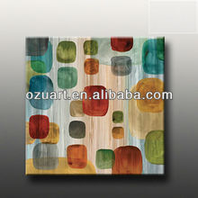 Handmade modern wall art abstract glossy canvas painting HF398