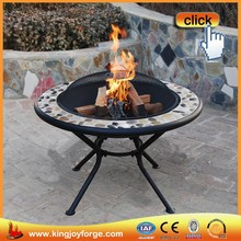 70cm Stone top table fire pits