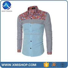 Newest Style Formal Mens Button Down Shirts Slim Fit