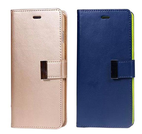 New Arrival Korea Design Top Qualtiy Card Slot Flip Cover Wallet Leather Phone case for iPhone 7 7 Plus
