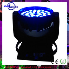 36pcs 4in 1 LED moving head light Professional new 36 x 10w 4 in 1 rgbw led zoom moving head light