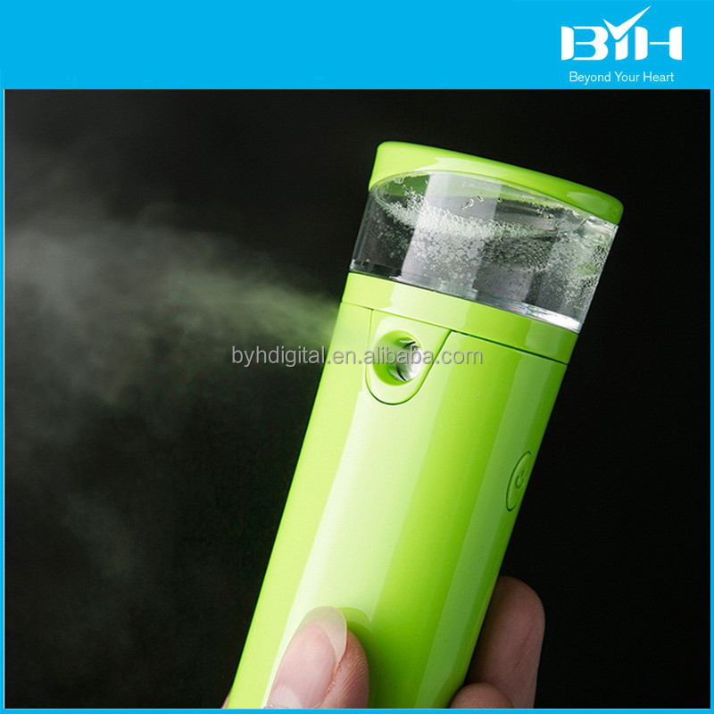 Hot selling jet cutting nanum car humidifier power bank,usb humidifier power bank