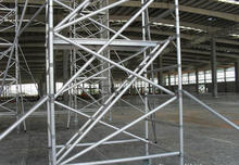Japanese durable Alu-Walk simple scaffolding with adjustable angle