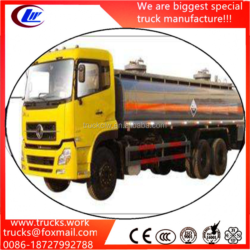 China Dongfeng 10 wheels 20000 Liters fuel tanker prices