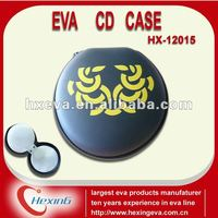 2014 fashionable clamshell cd/dvd cases