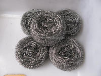 Stainless Steel Material and use for cleaning Usage stainless steel scourer
