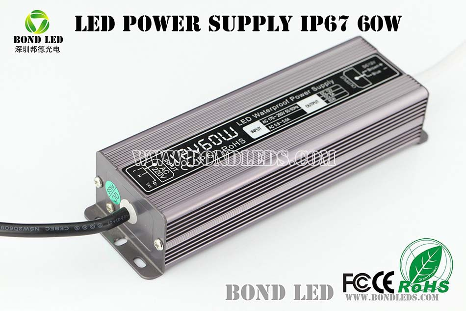 Mean Well 60W 12V Switching Power Supply 60W 12V led driver/led driver dimmable//waterproof led power supply 12v 60w