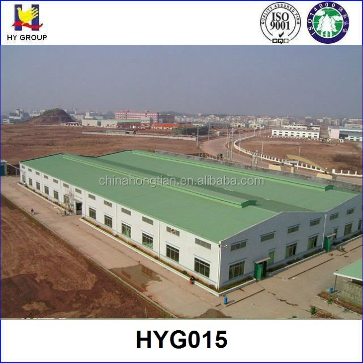 Prefabricated steel ware house structures