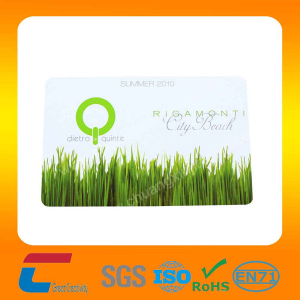 competitive price 13.56MHZ Contact/Contactless Chip Smart Card with customized logo