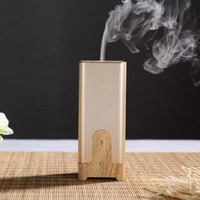 Humidifier / USB Mini ultrasonic natural flower aroma oil diffuser