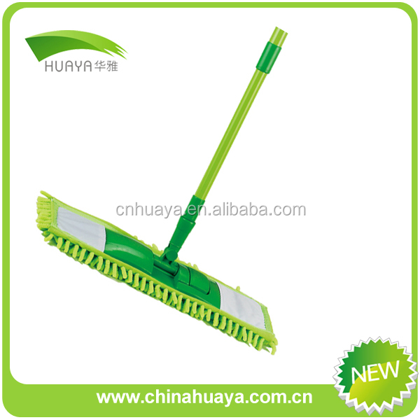 household mop pad with telescoping pole locks